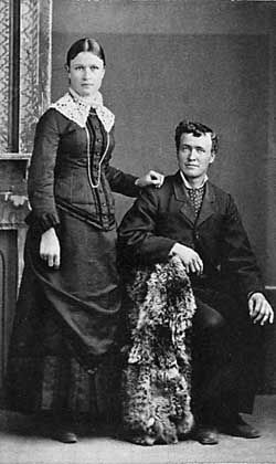 Photo of Susie and Heber Jarvis.