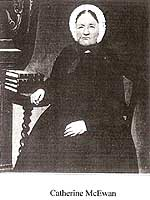Photo of Ann's mother, Catherine McEwan Prior