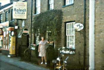 Birthplace of George Jarvis, Harlow, Essex, England. Taken in 1977